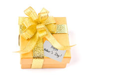 Mother day gift box Royalty Free Stock Image