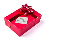 Mother day gift box Stock Image