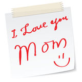 Mother day greetings Stock Photos