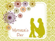 Mother day gretting card Stock Photo