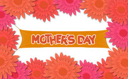 Mother day, holiday background. can be use for sale advertisement, backdrop. vector Royalty Free Stock Photography
