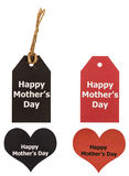 Mother day label and tag Stock Photography