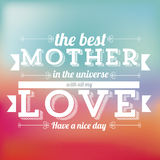 The mother day Stock Images