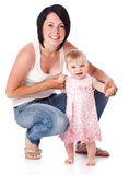 Mother and doughter Royalty Free Stock Photography