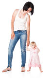 Mother and doughter royalty free stock photo