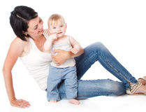 Mother and doughter stock image