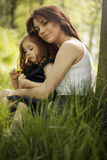 Mother and doughter Royalty Free Stock Images