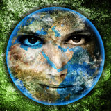 Mother Earth Stock Photo