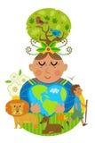 Mother Earth Concept Stock Photos