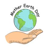 Mother Earth Day Stock Photo