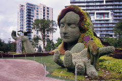 Mother earth at Mosaicanada Royalty Free Stock Image