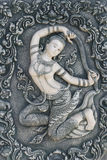 Mother of earth in Thai style. Mother earth in Thai style sculpture Stock Photo