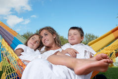 Mother and family stock photography