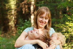 Mother family role Stock Images