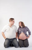 Mother and father Royalty Free Stock Photography
