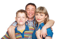 Free Mother, Father And Son Royalty Free Stock Image - 9768376