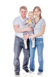 Mother father baby Stock Photography