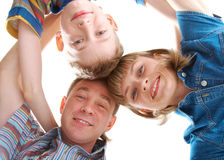 Mother, father and son Royalty Free Stock Image