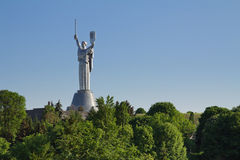 Mother of the Fatherland monument in Kyiv, Ukraine Stock Photo