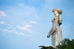 Mother Georgia statue, Tbilisi Royalty Free Stock Image