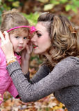 Mother and Girl Royalty Free Stock Photos