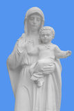 Mother of God with baby Statue Stock Photos