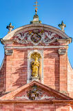 Mother of God Parish Church in Aschaffenburg Royalty Free Stock Photo