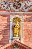Mother of God Parish Church in Aschaffenburg Stock Images