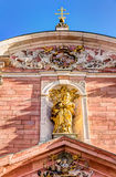 Mother of God Parish Church in Aschaffenburg Royalty Free Stock Images