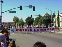 Mother Goose Parade Royalty Free Stock Photo
