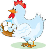 Mother Hen Royalty Free Stock Photography