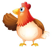 A mother hen Royalty Free Stock Photos