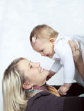 Mother with her baby Royalty Free Stock Photo