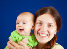 Mother with her baby Stock Photos