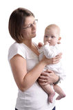 Mother with her baby daughter Stock Image