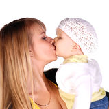 Mother with her baby girl Royalty Free Stock Photos