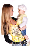 Mother with her baby girl. Royalty Free Stock Photography