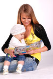 Mother with her baby girl. Stock Photography
