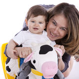 Mother with her baby son Stock Image