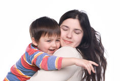 Mother with her child Royalty Free Stock Images