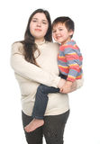 Mother with her child Stock Image