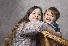 Mother with her child Stock Photos