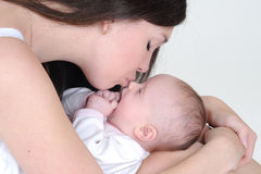 Mother and her child Stock Image
