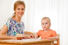 Mother and her child Royalty Free Stock Photo