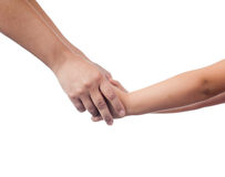 Mother and her child holding hands Royalty Free Stock Photography