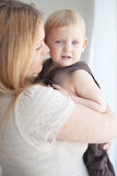 Mother with her child Royalty Free Stock Photo
