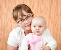 Mother with her daughter Royalty Free Stock Photo