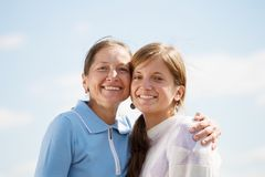 Mother with her daughter Royalty Free Stock Image