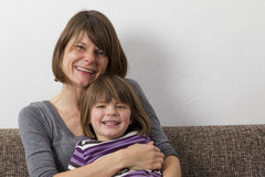 Mother with her daughter Royalty Free Stock Photos