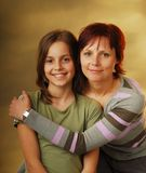 A mother with her daughter Royalty Free Stock Photography